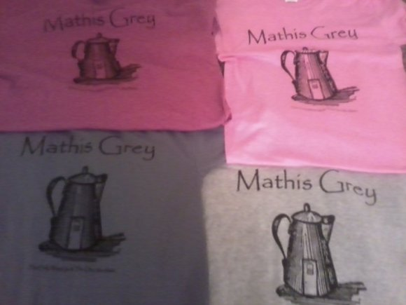 Mathis Grey T-Shirts